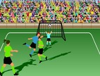 Free-penalty-shootout-game