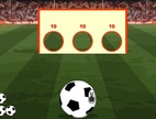 Penalty-shootout-game-in-a-pierced-wall